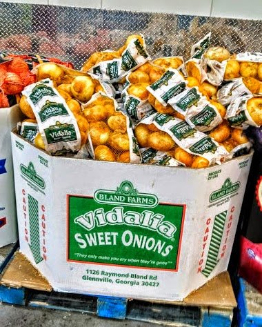 vidalia onions at Costco Wholesale Warehouse