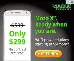 Republic Wireless Moto Phones