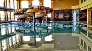 Lifetime Athletic Indoor Swimming Pool