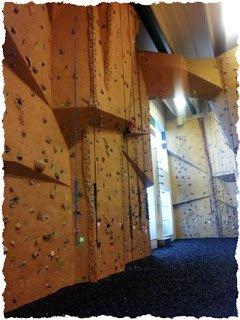 lifetime fitness climbing wall