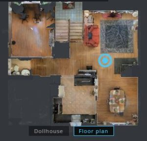 Dollhouse View of your home that's included with Redfin's service